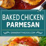 Baked Chicken Parmesan Recipe | Italian Chicken Parmesan | Baked Chicken #chicken #cheese #pasta #dinner #dinneratthezoo