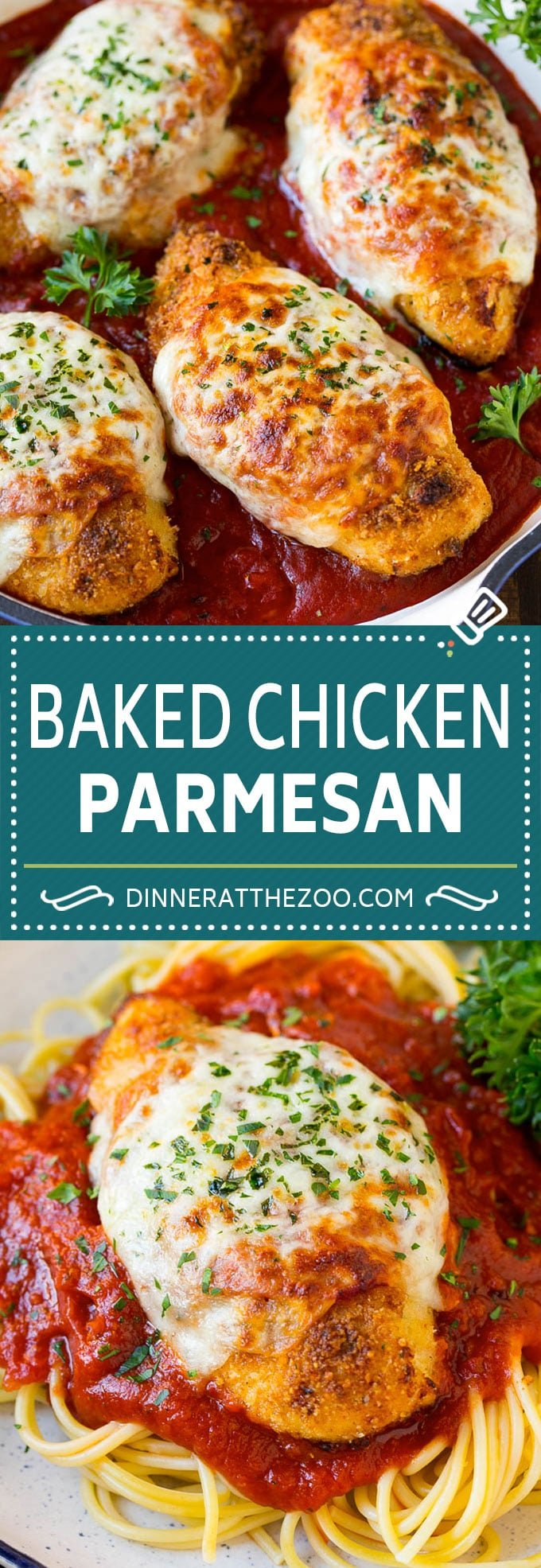 Baked Chicken Parmesan Dinner At The Zoo