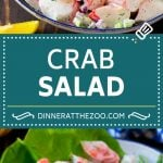 Crab Salad Recipe | Seafood Salad | Deli Salad #crab #salad #seafood #lowcarb #keto #lunch #dinner #dinneratthezoo