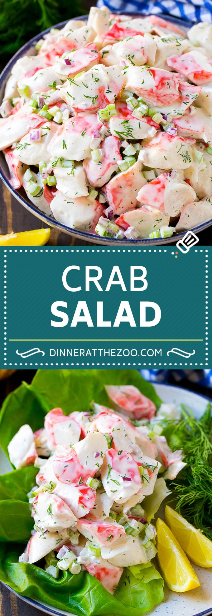Crab Salad Recipe | Seafood Salad | Deli Salad #crab #salad #seafood #lowcarb #keto #lunch #dinner #dinneratthezoo