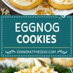 Eggnog Cookies Recipe   Holiday Cookies   Christmas Cookies #cookies #eggnog #baking #christmas #sprinkles #dessert #dinneratthezoo