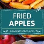 Fried Apples Recipe | Sauteed Apples | Cinnamon Sugar Apples #apples #cinnamon #sugar #sidedish #dessert #dinneratthezoo #fall