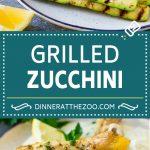 Grilled Zucchini Recipe | Marinated Zucchini | Zucchini Side Dish #zucchini #squash #grilling #lowcarb #keto #vegetarian #dinner #dinneratthezoo #cleaneating