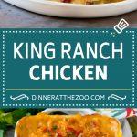 King Ranch Chicken Recipe | Mexican Chicken Casserole | Creamy Chicken Casserole #casserole #chicken #cheese #comfortfood #dinner #dinneratthezoo