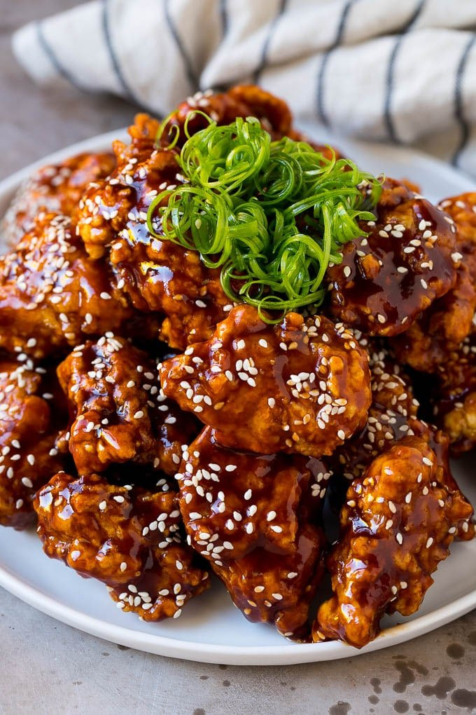 Korean Fried Chicken Dinner At The Zoo
