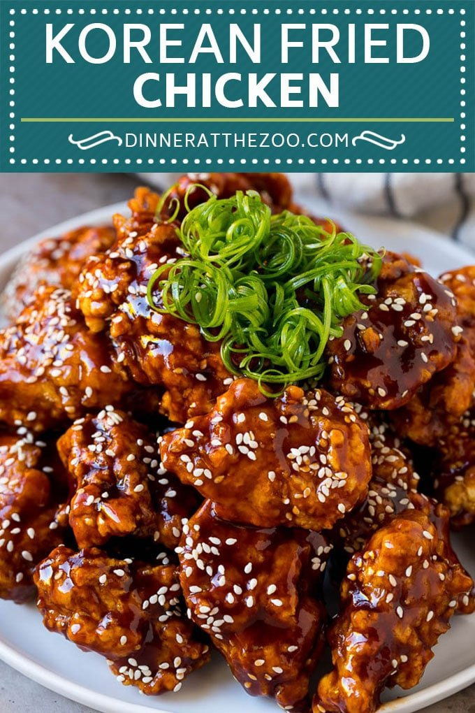 Korean Fried Chicken Recipe | Fried Chicken | Korean Chicken #chicken #friedchicken #appetizer #dinner #dinneratthezoo