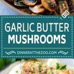 Sauteed Mushrooms Recipe | Garlic Butter Mushrooms | Steakhouse Mushrooms #mushrooms #garlic #butter #lowcarb #keto #sidedish #dinner #dinneratthezoo
