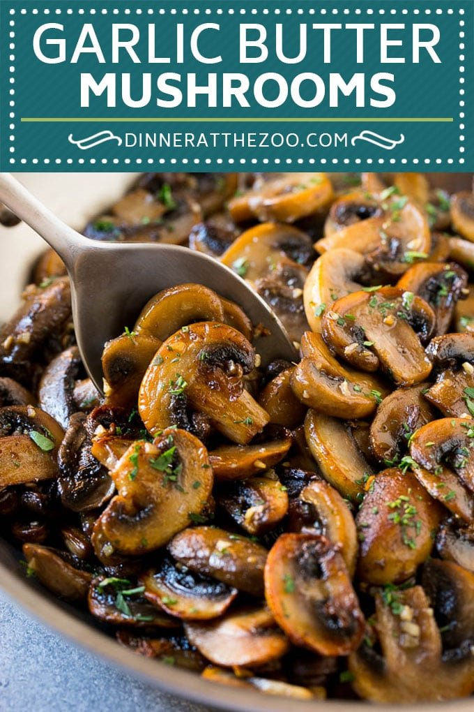 Sauteed Mushrooms Recipe | Garlic Butter Mushrooms | Steakhouse Mushrooms #mushrooms #garlic #butter #lowcarb #keto #sidedish #dinner #dinneratthezoo