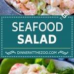 Seafood Salad Recipe | Shrimp Salad Recipe | Crab Salad #salad #shrimp #crab #seafood #lunch #lowcarb #dinner #dinneratthezoo