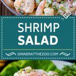 Shrimp Salad Recipe | Creamy Shrimp Salad #salad #shrimp #seafood #lowcarb #dinner #lunch #dinneratthezoo