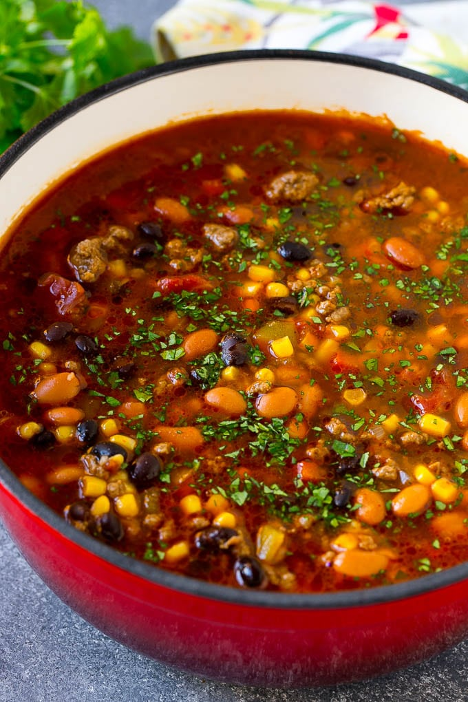Taco Soup Recipe Dinner At The Zoo