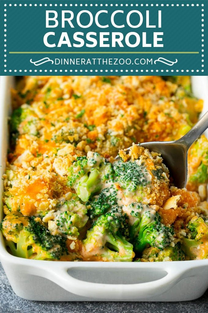 Broccoli Casserole Recipe | Broccoli and Cheese Casserole | Baked Broccoli #broccoli #cheese #casserole #sidedish #dinner #dinneratthezoo