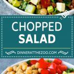 Chopped Salad Recipe   Chicken Salad   Avocado Salad #salad #chicken #avocado #bacon #glutenfree #dinner #dinneratthezoo #lunch