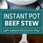 Instant Pot Beef Stew Recipe   Pressure Cooker Beef Stew   Beef Stew #beef #stew #soup #pressurecooker #instantpot #dinner #dinneratthezoo