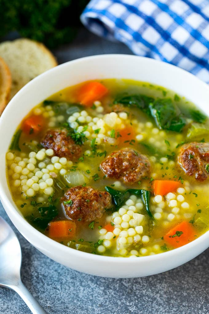 Italian Wedding Soup Dinner At The Zoo