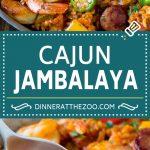 Jambalaya Recipe | One Pot Meal | Chicken Dinner #chicken #shrimp #cajun #rice #onepot #dinner #dinneratthezoo #glutenfree