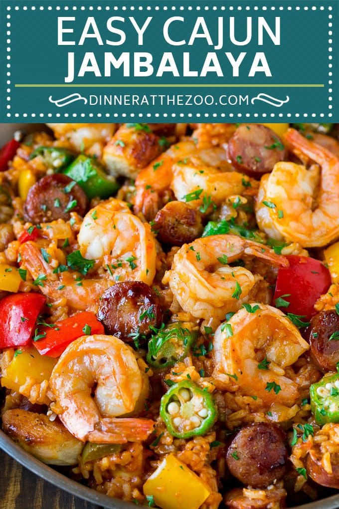 Jambalaya Recipe | One Pot Meal | Chicken Dinner #chicken #shrimp #cajun #rice #onepot #dinner #dinneratthezoo #glutenfree