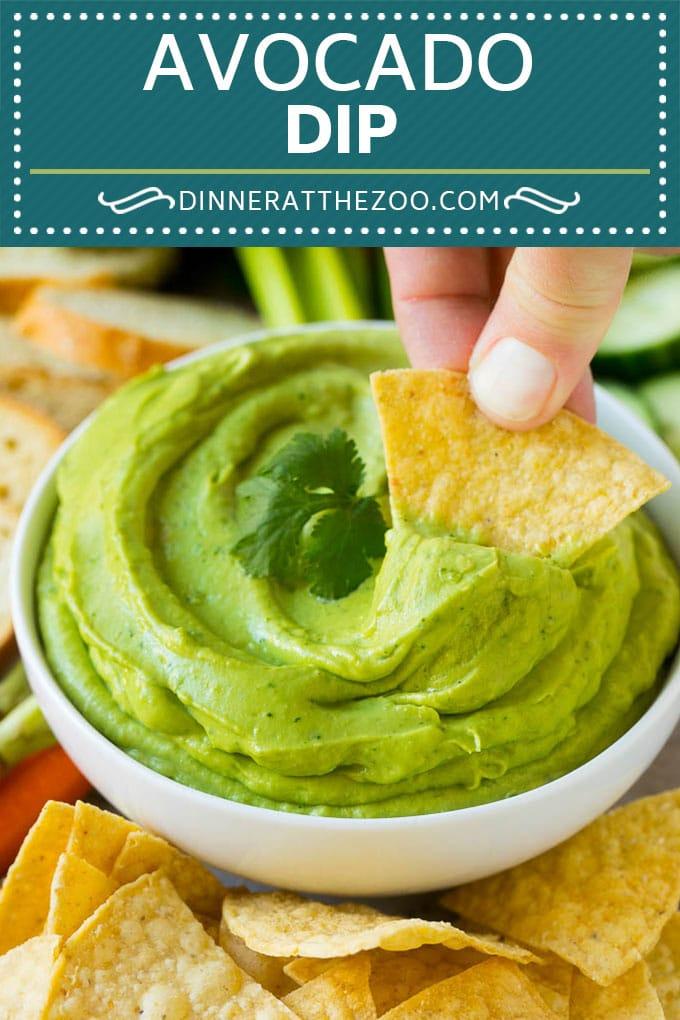 Avocado Dip Recipe | Healthy Avocado Recipe | Avocado Sauce #avocado #dip #appetizer #glutenfree #lowcarb #keto #dinneratthezoo #cleaneating