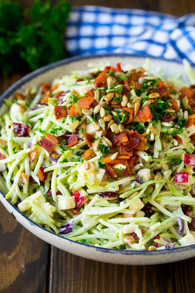 Broccoli Slaw Recipe Dinner At The Zoo