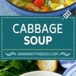 Cabbage Soup Recipe | Vegetable Soup | Veggie Soup | Healthy Soup #soup #healthy #cleaneating #cabbage #vegetables #veggies #dinner #dinneratthezoo