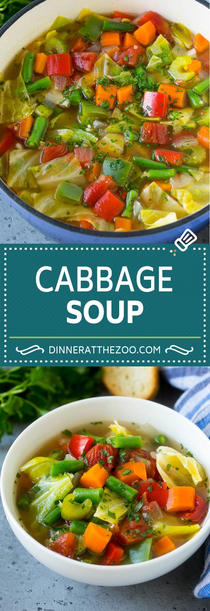 Cabbage Soup Recipe | Vegetable Soup | Veggie Soup | Healthy Soup #soup #healthy #cleaneating #cabbage #vegetables #veggies #dinner #dinneratthezoo