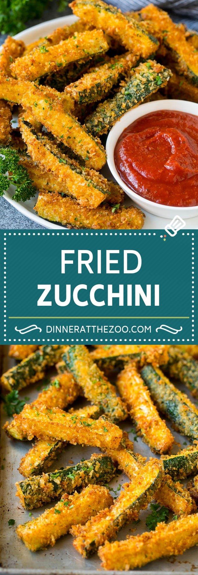 Fried Zucchini Recipe | Zucchini Fries | Zucchini Recipe #appetizer #zucchini #snack #dinneratthezoo