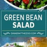 Green Bean Salad Recipe | String Bean Salad | Chopped Salad #greenbeans #tomatoes #olives #salad #cleaneating #lowcarb #glutenfree #dinneratthezoo