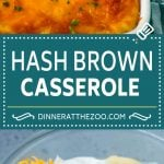 Hash Brown Casserole | Potato Casserole | Hash Brown Side Dish #potatoes #cheese #casserole #sidedish #dinneratthezoo