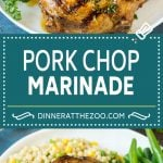 Pork Chop Marinade Recipe | Marinated Pork Chops | Grilled Pork Chops #pork #porkchops #grilling #dinner #dinneratthezoo