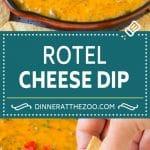 Rotel Dip Recipe | Mexican Cheese Dip | Beef and Cheese Dip | Velveeta Dip #dip #appetizer #hamburger #tomatoes #cheese #dinneratthezoo