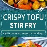 Tofu Stir Fry Recipe | Crispy Tofu | Tofu and Vegetables | Vegetable Stir Fry #tofu #vegetarian #stirfry #zucchini #dinner #meatless #dinneratthezoo