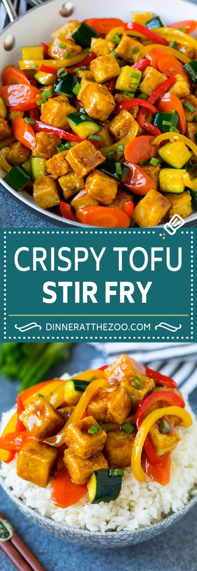 Tofu Stir Fry Recipe | Crispy Tofu | Tofu and Vegetables | Vegetable Stir Fry #tofu #vegetarian #stirfry #zucchini #dinner #meatless #dinneratthezoo
