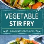 Vegetable Stir Fry Recipe | Veggie Stir Fry | Broccoli Stir Fry #vegetarian #vegetables #broccoli #dinner #dinneratthezoo
