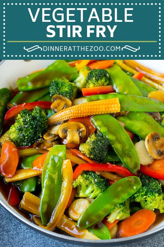 Vegetable Stir Fry Recipe | Veggie Stir Fry | Broccoli Stir Fry #vegetarian #vegetables #broccoli #dinner #dinneratthezoo