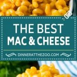 Baked Mac and Cheese Recipe | Macaroni and Cheese | Mac and Cheese #pasta #cheese #macandcheese #sidedish #dinner #dinneratthezoo