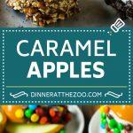 Caramel Apples Recipe | Dipped Apples | Apple Dessert #apples #caramel #chocolate #dessert #fall #dinneratthezoo