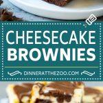 Cheesecake Brownies Recipe | Cream Cheese Brownies | Homemade Brownies #brownies #cheesecake #chocolate #dessert #dinneratthezoo