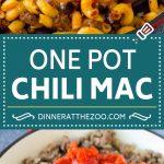 One Pot Chili Mac Recipe | One Pot Pasta | Chili Mac #dinner #beef #pasta #macaroni #beans #cheese #dinneratthezoo #onepot