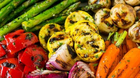 Grilled Vegetables Dinner At The Zoo