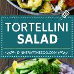 Greek Tortellini Salad Recipe | Pasta Salad | Tortellini Salad | Greek Salad #greek #tortellini #pasta #salad #cucumbers #olives #dinner #dinneratthezoo
