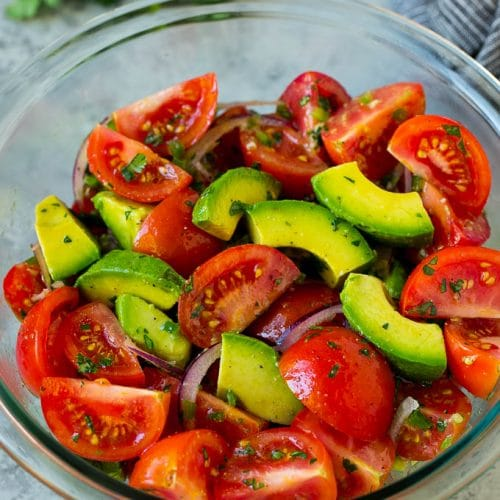 Avocado Salad Recipe Without Tomatoes