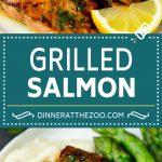 Grilled Salmon Recipe | Marinated Salmon | Healthy Salmon Recipe #salmon #grilling #seafood #marinade #dinner #dinneratthezoo