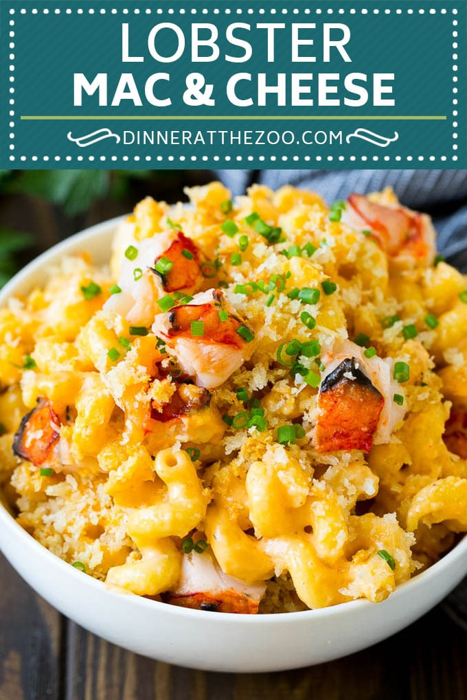 Lobster Mac and Cheese Recipe | Lobster Macaroni and Cheese | Baked Mac and Cheese #pasta #macandcheese #macaroni #lobster #cheese #dinner #dinneratthezoo