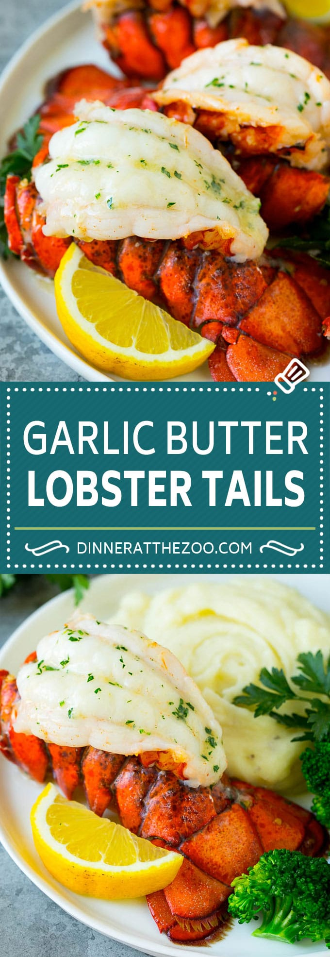 Garlic Butter Lobster Tails Recipe | Broiled Lobster Tails | Lobster Recipe #lobster #seafood #butter #keto #lowcarb #glutenfree #dinner #dinneratthezoo