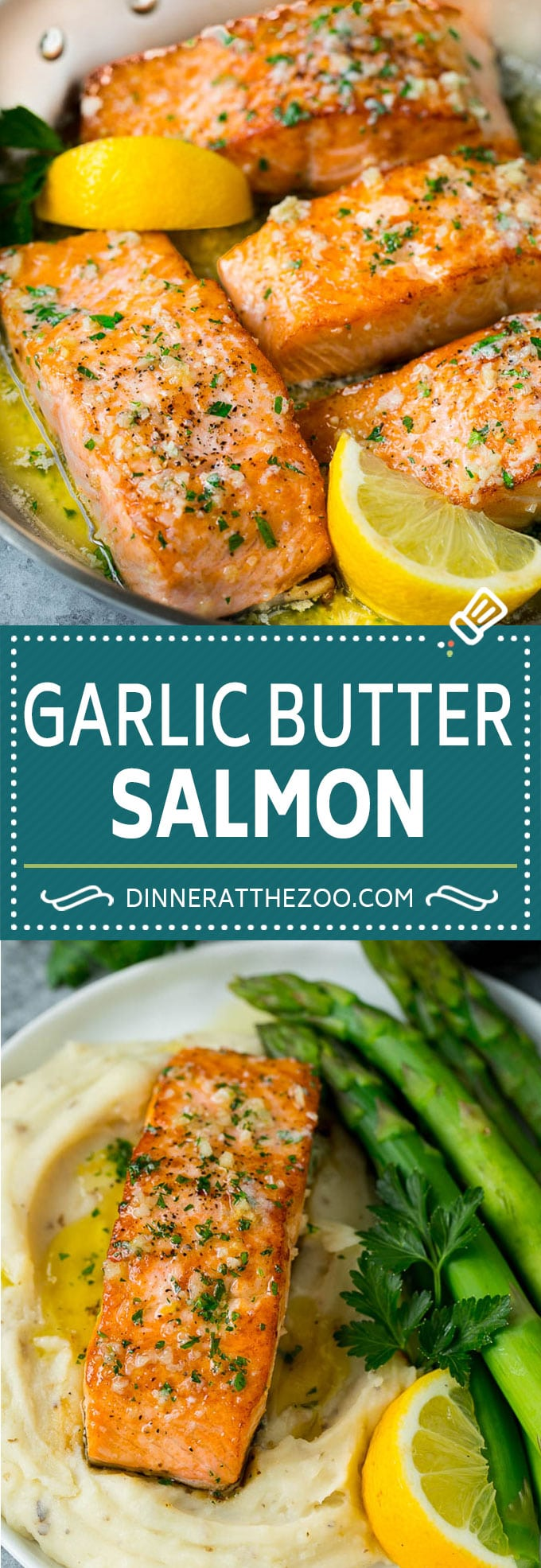 Pan Seared Salmon Recipe | Garlic Butter Salmon | Seared Salmon #salmon #garlic #butter #keto #lowcarb #dinner #dinneratthezoo