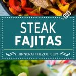 Steak Fajitas Recipe | Beef Fajitas | Steak Recipe #fajitas #steak #beef #mexicanfood #dinner #dinneratthezoo