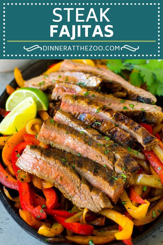 Steak Fajitas Recipe | Beef Fajitas | Steak Recipe #fajitas #steak #beef #mexicanfood #dinner #dinneratthezoo