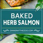 Baked Salmon Recipe   Garlic Salmon   Roasted Salmon #salmon #seafood #fish #dinner #dinneratthezoo