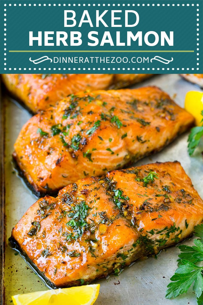 Baked Salmon Recipe | Garlic Salmon | Roasted Salmon #salmon #seafood #fish #dinner #dinneratthezoo