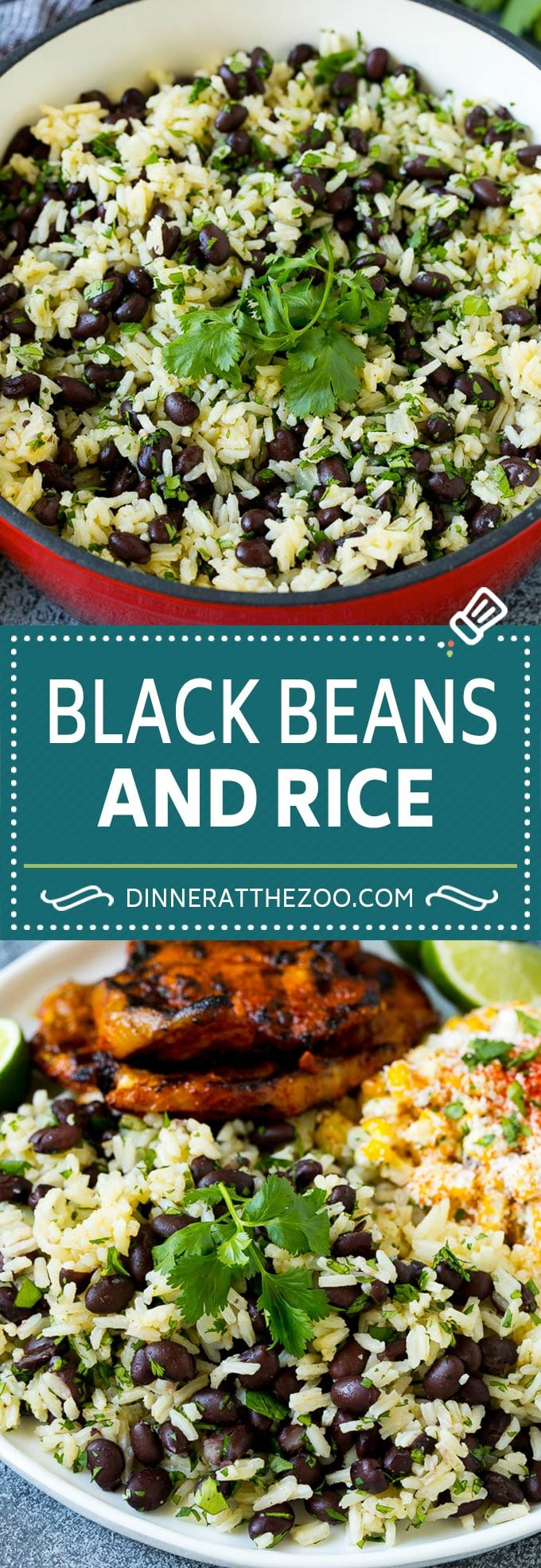 Black Beans and Rice Recipe   Cuban Black Beans   Beans and Rice #beans #rice #blackbeans #sidedish #glutenfree #dinner #dinneratthezoo